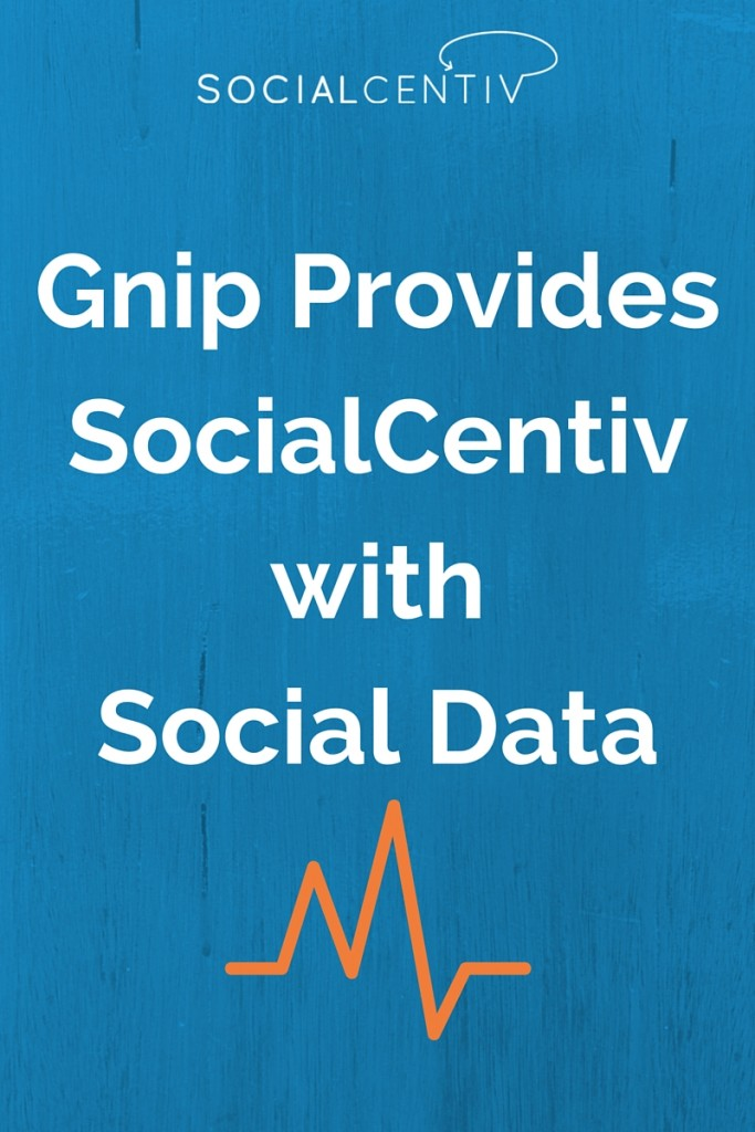 Gnip Provides SocialCentiv with Social Data