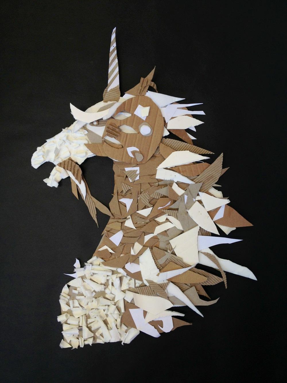 unicorn by delaney hoving