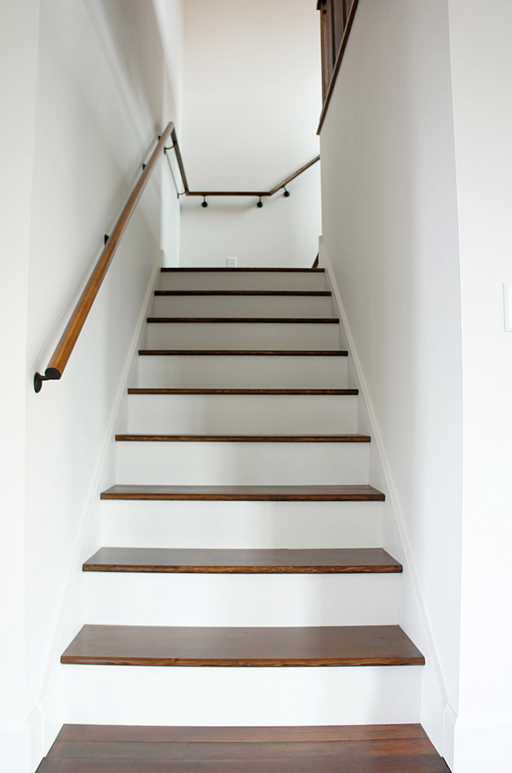 Modern Country Staircase by Kaemingk Design