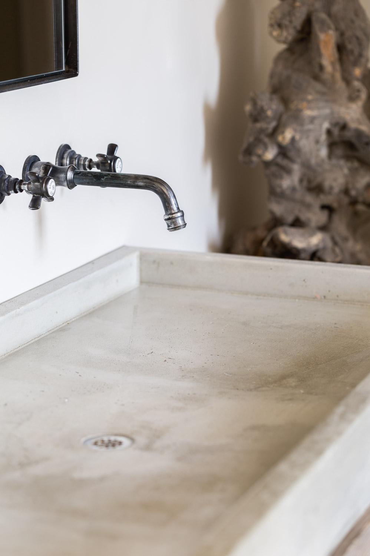 Concrete Sink by Kaemingk Design.  Photo: Alyssa Rosenheck