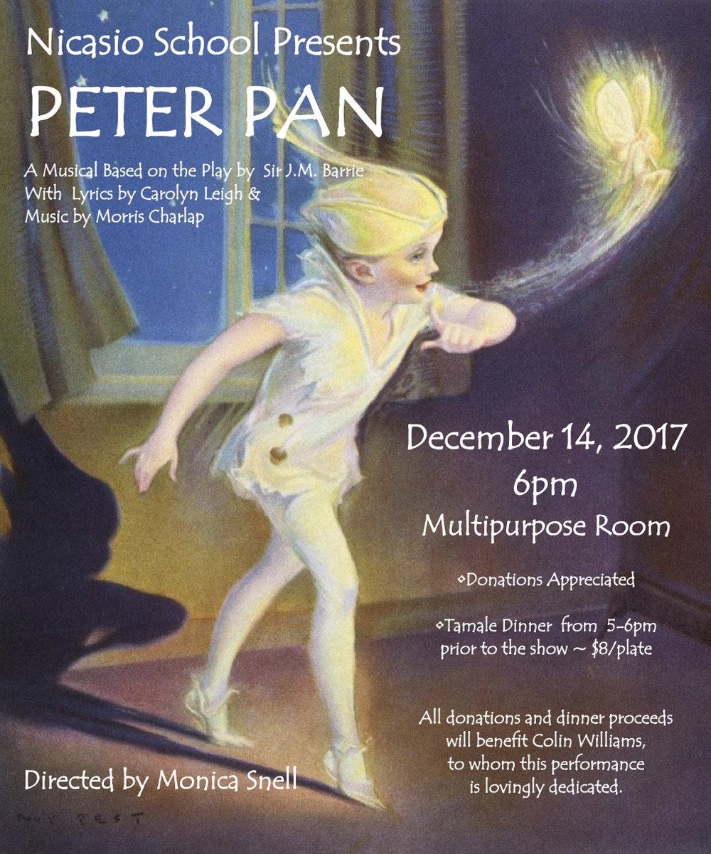 Peter Pan DEC 2017