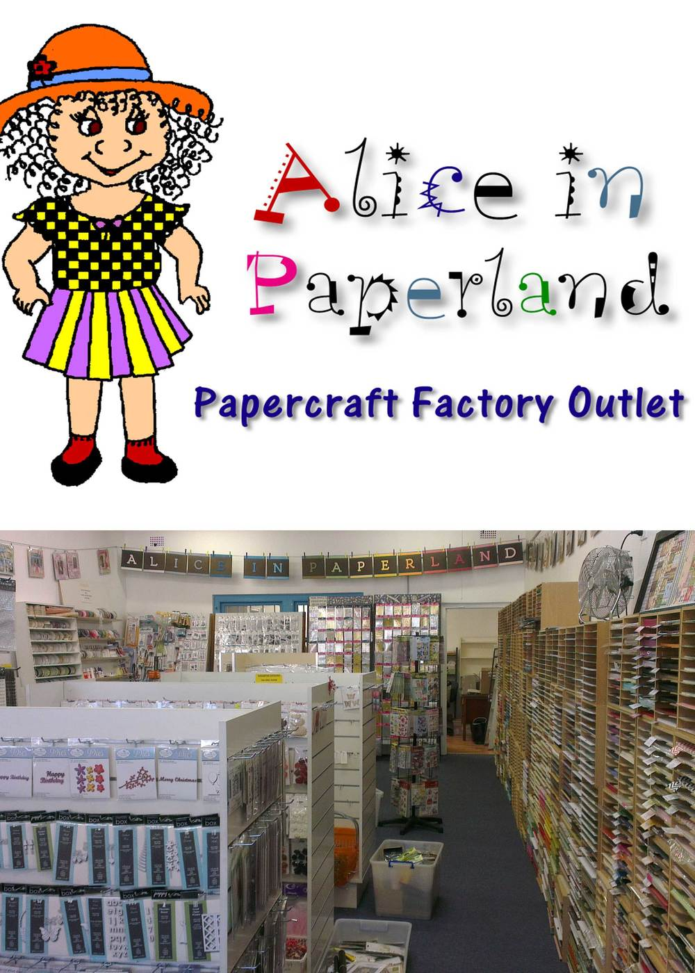 Alice in Paperland  is a papercraft factory outlet specialising in specialty papers, envelopes and invitation supplies, all at competitive pricing as they come straight from their factory. They can help customers design their invitations and can even show them how to put them together at no extra cost. Alice in Paperland is a one stop shop carrying a variety of embellishments and ribbons to give your invitations the finishing touches.  15% off if you mention the name 'Jazzy'.