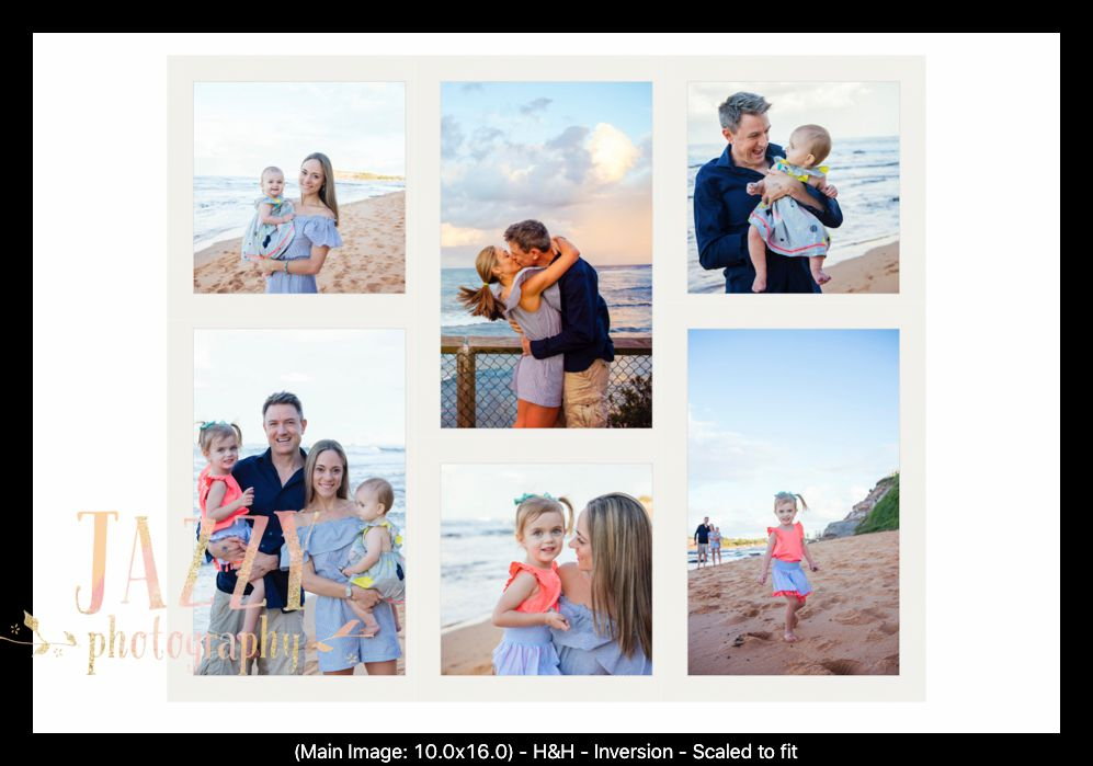 Melissa and Clint's Wall Art - Layout - Close of individual frames.jpg