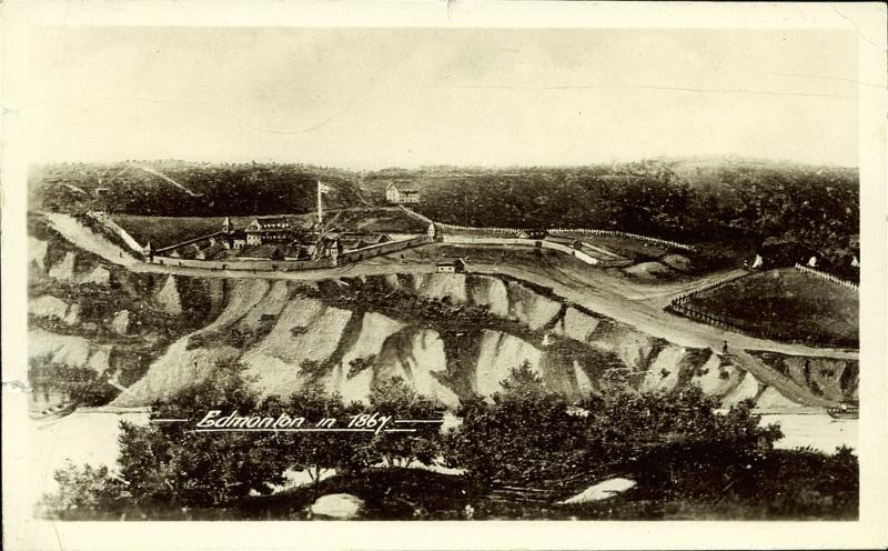Edmonton in 1867