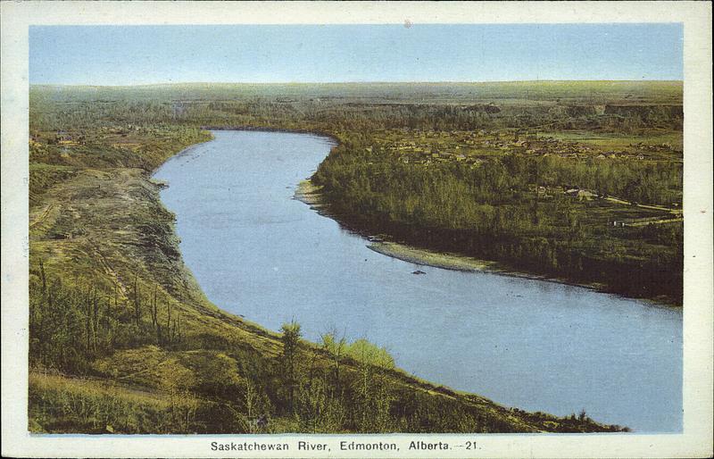 Saskatchewan River, Edmonton, Alberta