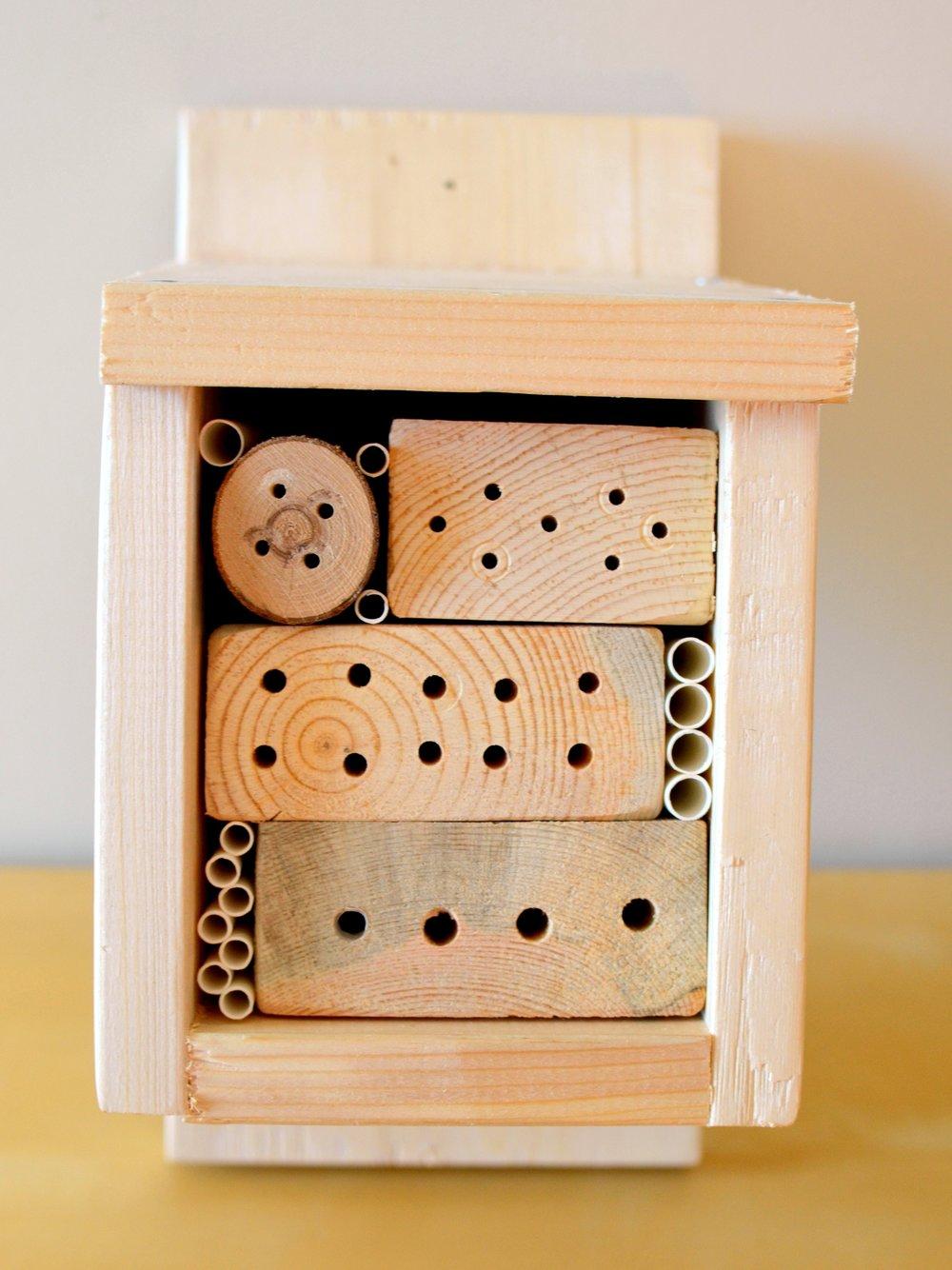 build your own bee hotel workshop u2014 edmonton u0026 area land trust