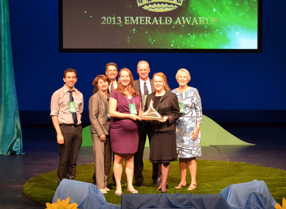 EALT at the Emerald Awards in 2013.