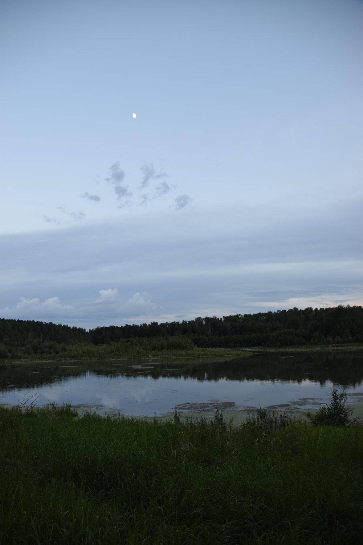 Lake at Glory Hills at dusk