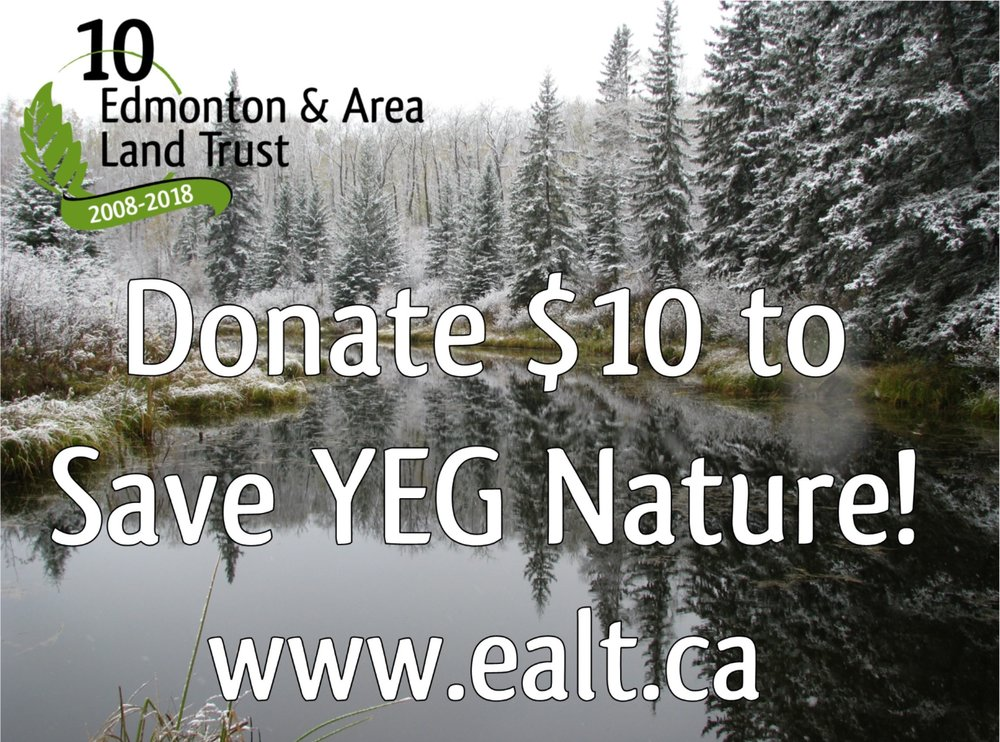 Donate $10 to Save YEG Nature