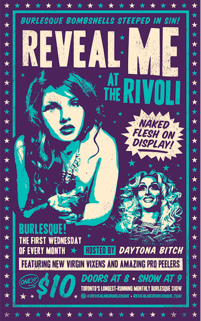 REVEAL ME BURLESQUE - COVER: $10TICKETS AT DOORMORE INFO