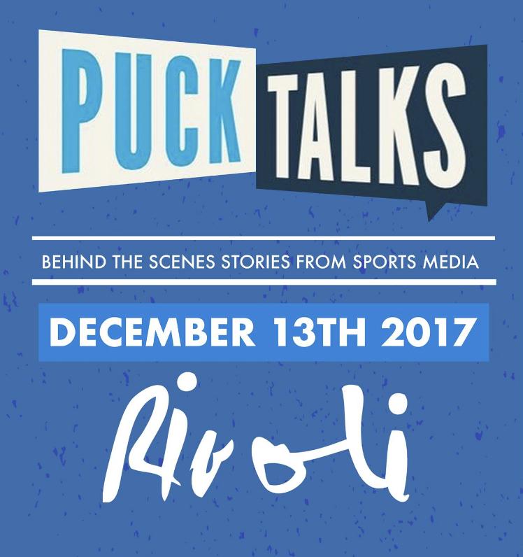 PUCK TALKS - COVER: $20 Adv / $25 DoorMORE INFO