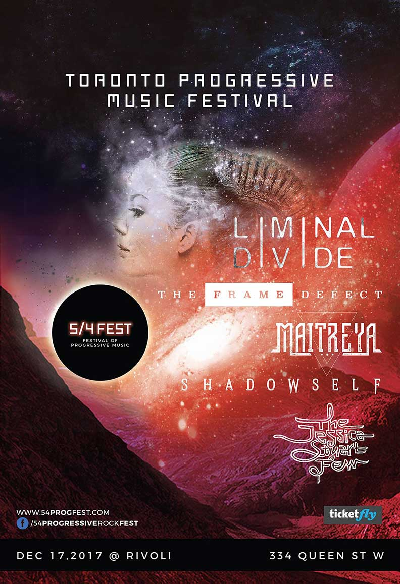 FESTIVAL OF PROGRESSIVE MUSIC - COVER: $15 Adv / $20 DoorMORE INFO