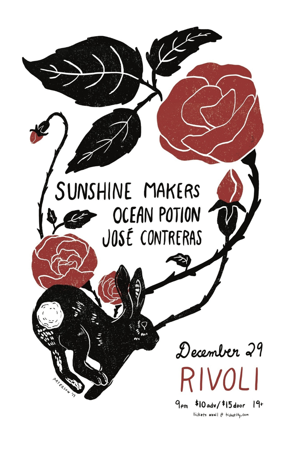 Sunshine Makersw/ Ocean PotionJosé Contreras  - COVER: $10 ADV / $15 DOORMORE INFO