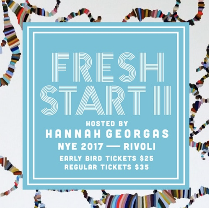HOSTED BY HANNA GEORGAS - COVER: $35 Adv / $40 DoorMORE INFO