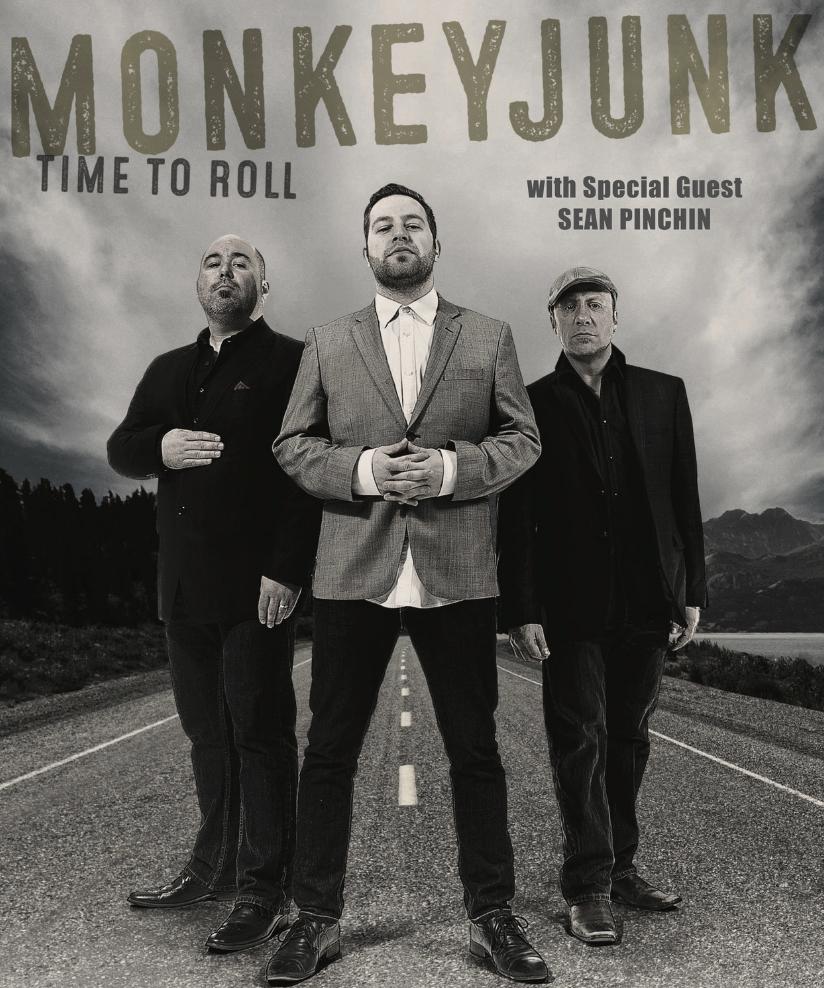 MONKEYJUNKw/ Sean Pinchin - COVER: $15 Adv / $20 DoorMORE INFO