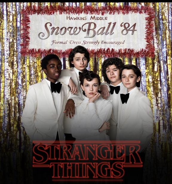 STRANGER THINGS SNOW BALL '84 - COVER: $5 Adv / $10 DoorMORE INFO