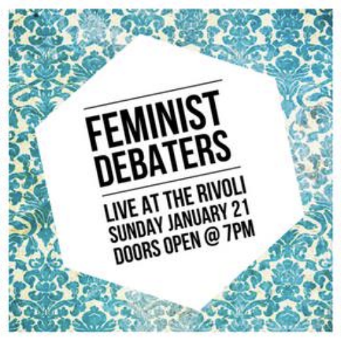 FEMINIST DEBATERS - COVER: $15MORE INFO