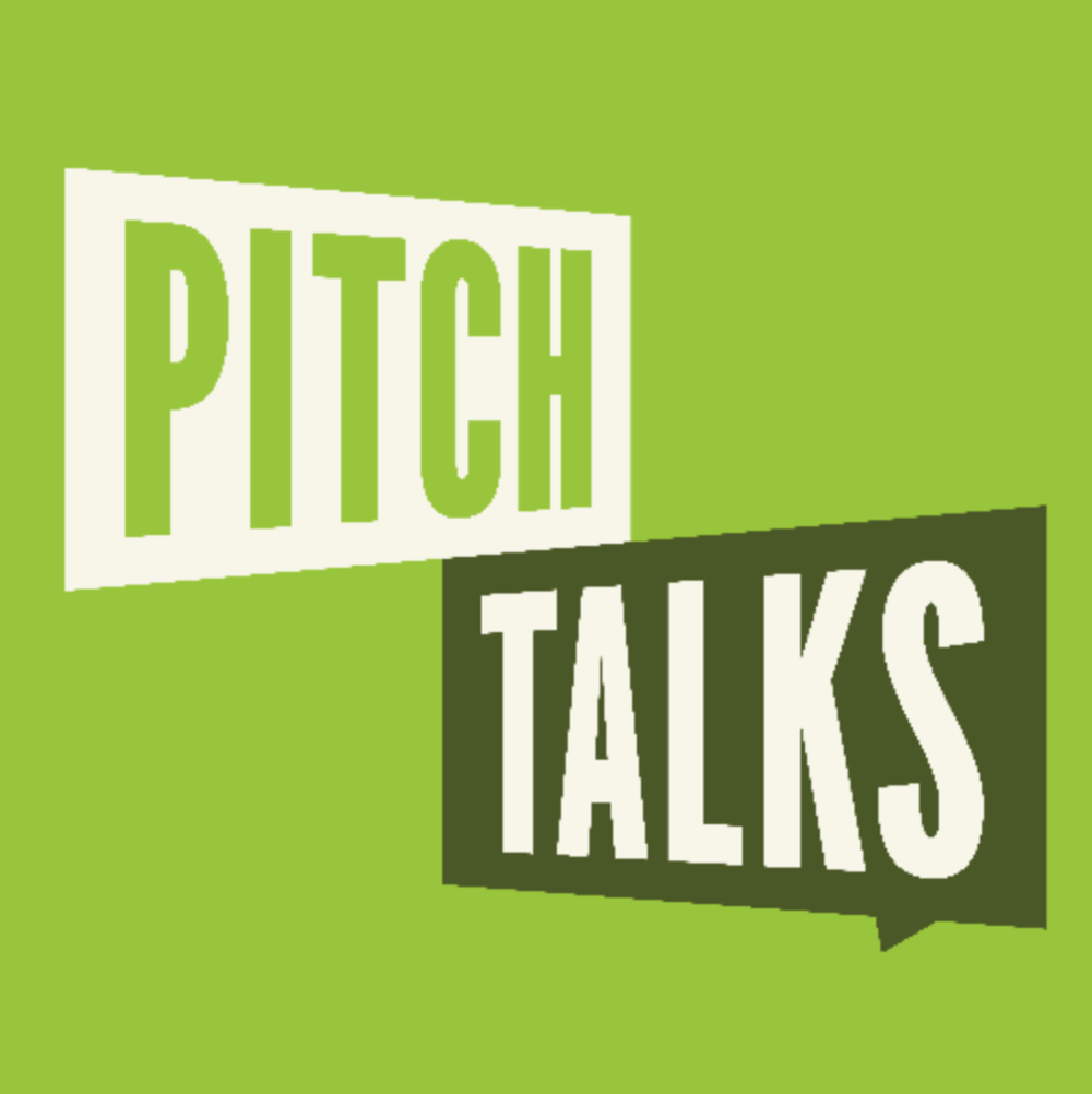 PITCH TALKS - COVER: $20- $25