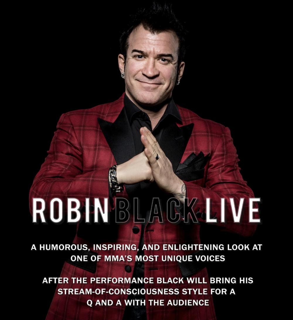 ROBIN BLACK LIVE - COVER: $25 Adv - $30 DoorMORE INFO