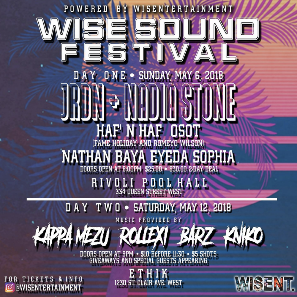 1ST ANNUAL WISE SOUND FESTIVAL - COVER: $25MORE INFO