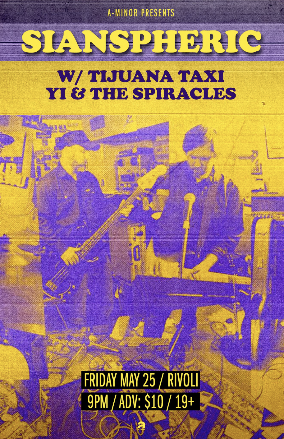 SIANSPHERICW/ TIJUANA TAXIYI & THE SPIRACLES - COVER: $10 ADV / $12 DOORMORE INFO