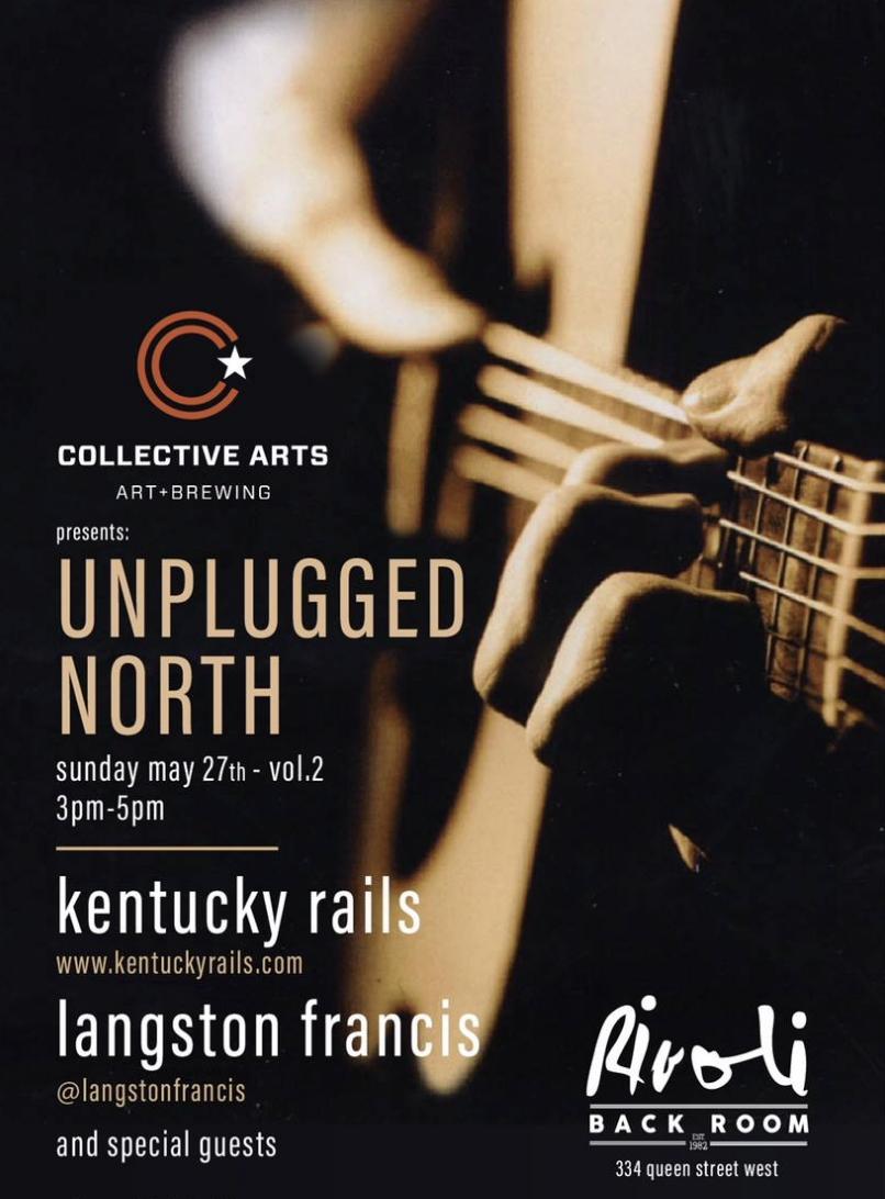 UNPLUGGED NORTH - COVER: $8 ADV / $10 DOORMORE INFO