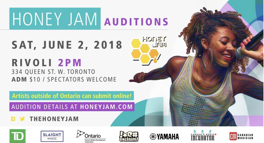 HONEY JAM CANADA AUDITIONS - MORE INFO