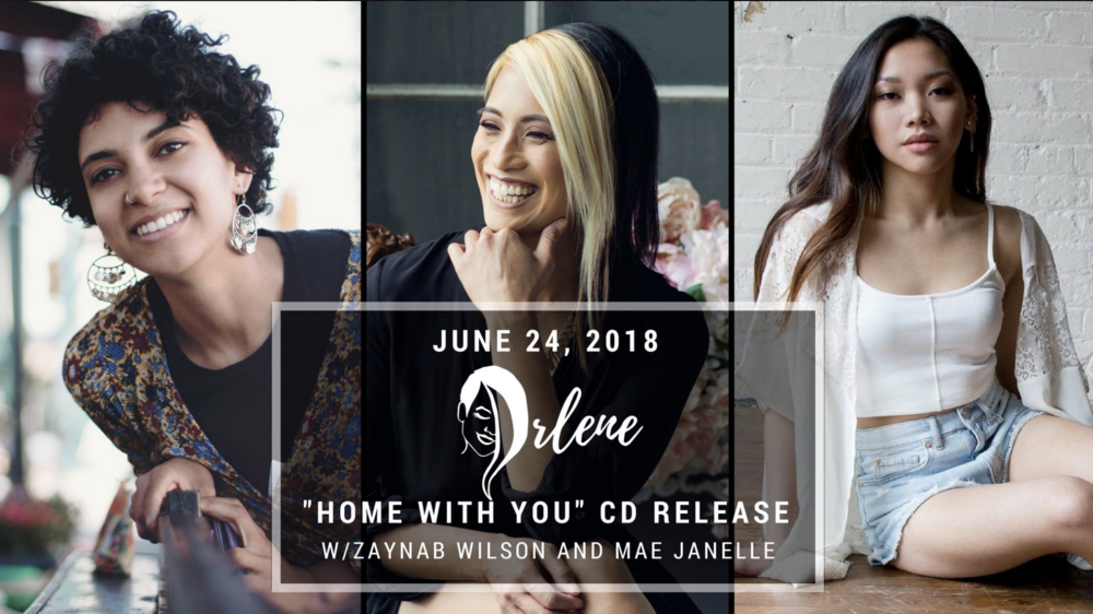 ARLENE PACULANw/ Zaynab Wilson& Mae Janelle - COVER: $10 ADV / $15 DOORMORE INFO
