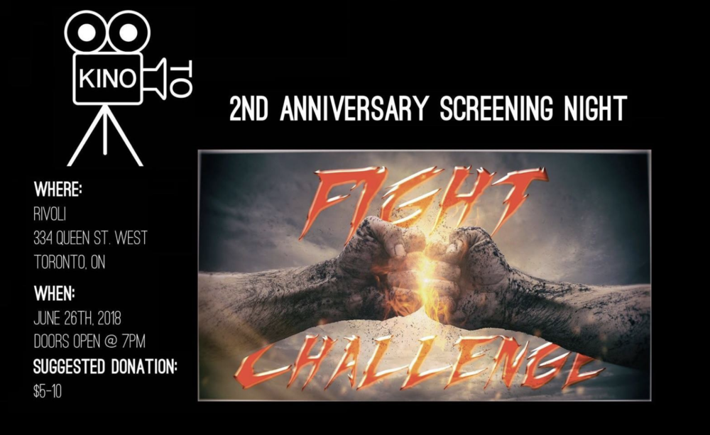 Kino T.O. Second Anniversary Screening - COVER: Suggested donation of $5-10MORE INFO