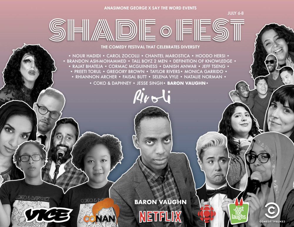 SHADE FEST - 7PM - COVER: $20 Adv. / $25 Door / Weekend Pass $60MORE INFO