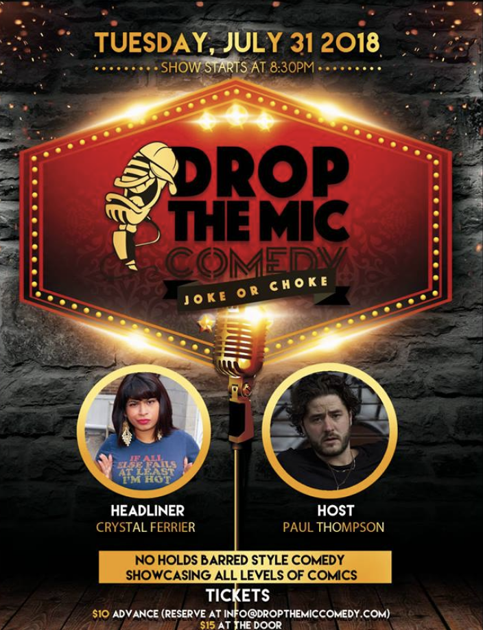 DROP THE MIC COMEDY:JOKE OR CHOKE - MORE INFO