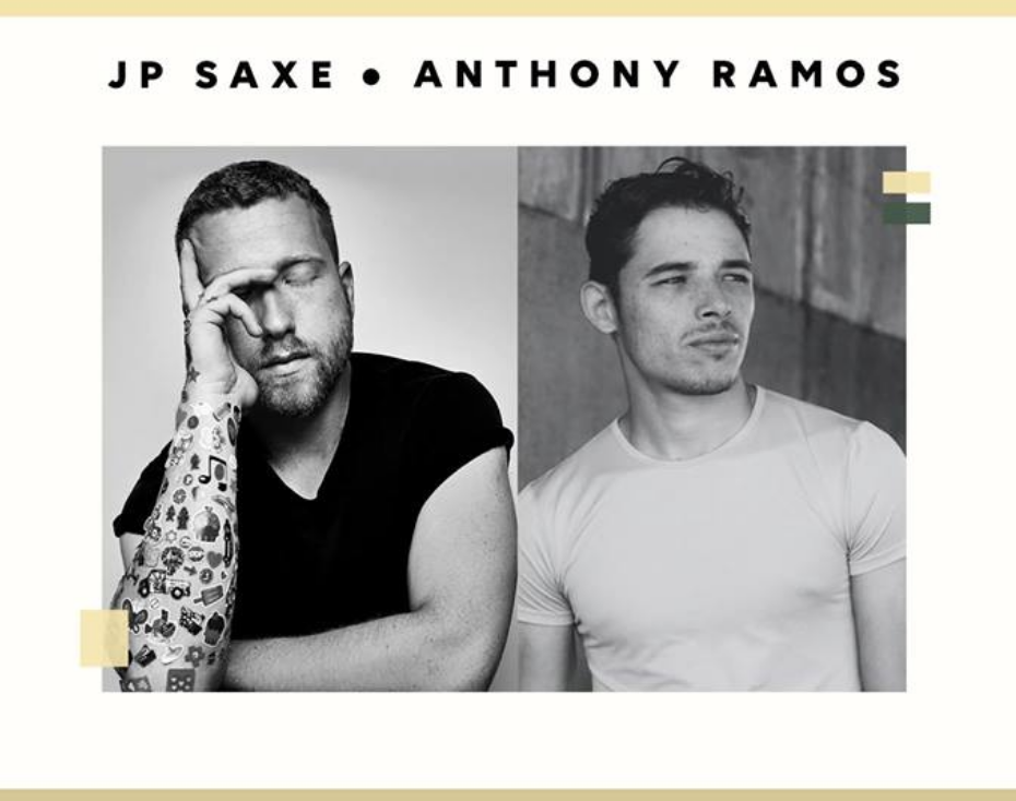 JP SAXE & ANTHONY RAMOS - COVER: $20 ADVMORE INFO