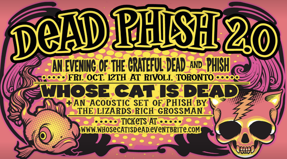 DEAD PHISH 2.0Whose Cat Is Dead&A Solo Acoustic Phish Set by Rich Grossman of The Lizards - COVER: $15 ADV / $20 DOORMORE INFO