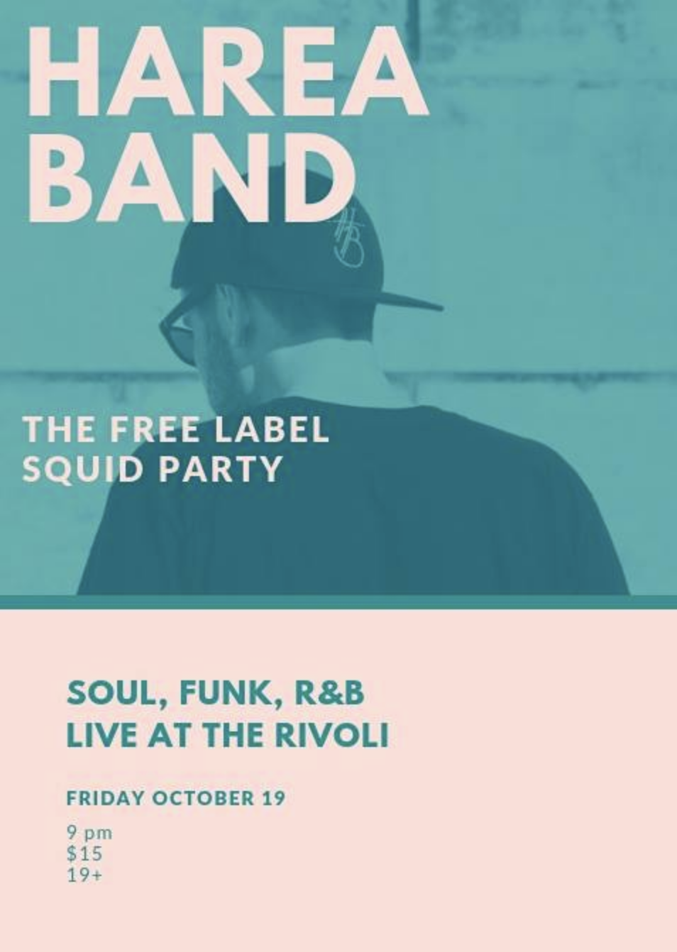 AREA BANDw/ SQUID PARTYTHE FREE LABEL - COVER: $15MORE INFO
