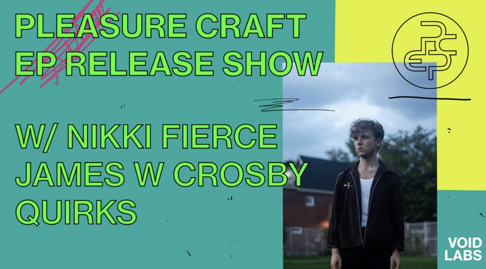PLEASURE CRAFTW/ NIKKI FIERCEJAMES W CROSBYQUIRKS - COVER: $10 ADVMORE INFO