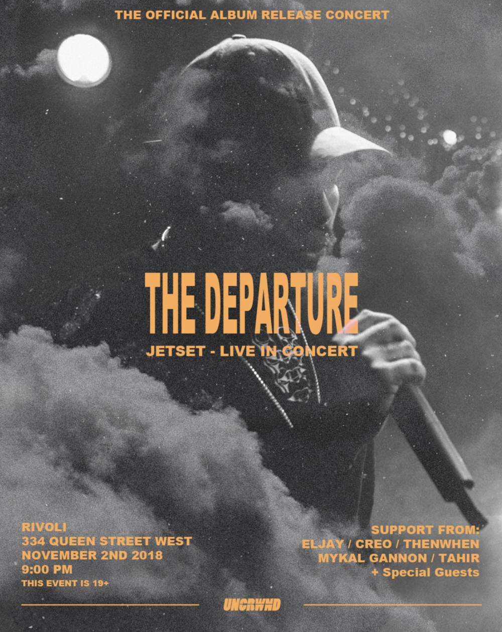 THE DEPARTUREJETSET - LIBVE IN CONCERT - COVER: $10 - $20 ADVMORE INFO