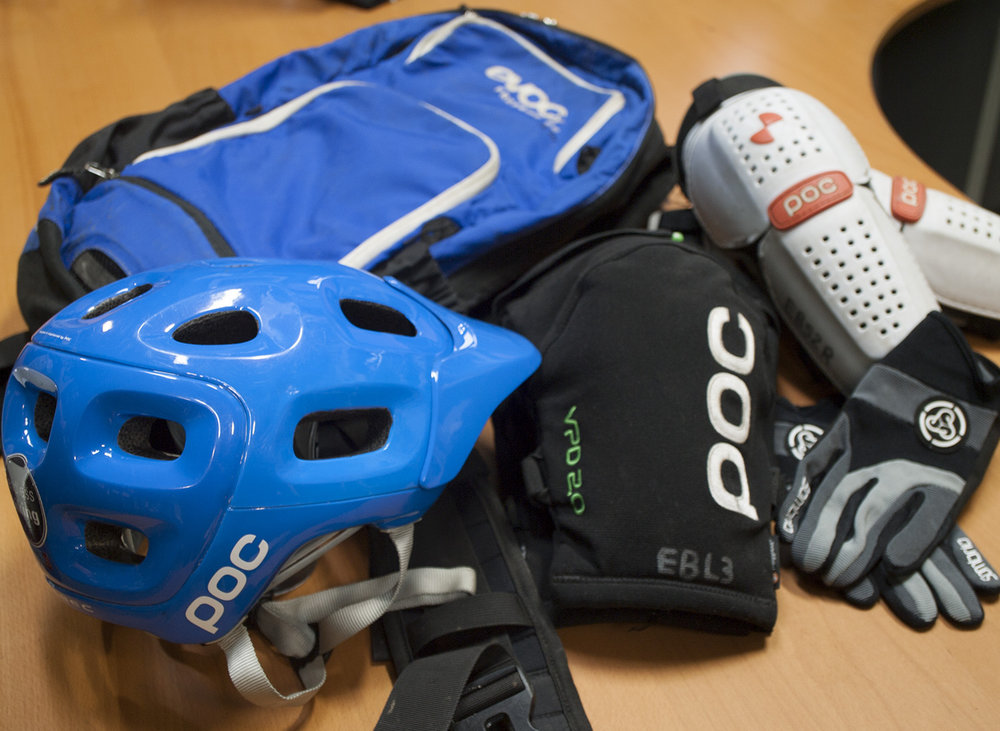 - POC Helmets & Body Armour - Evoc Backpacks - Sombrio Gloves