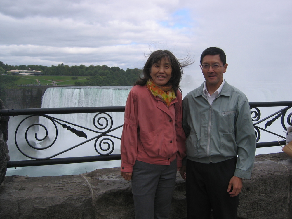 2014.09.13  Murray & Tsuruko at Niagara Falls.JPG