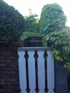 Old narrow steps