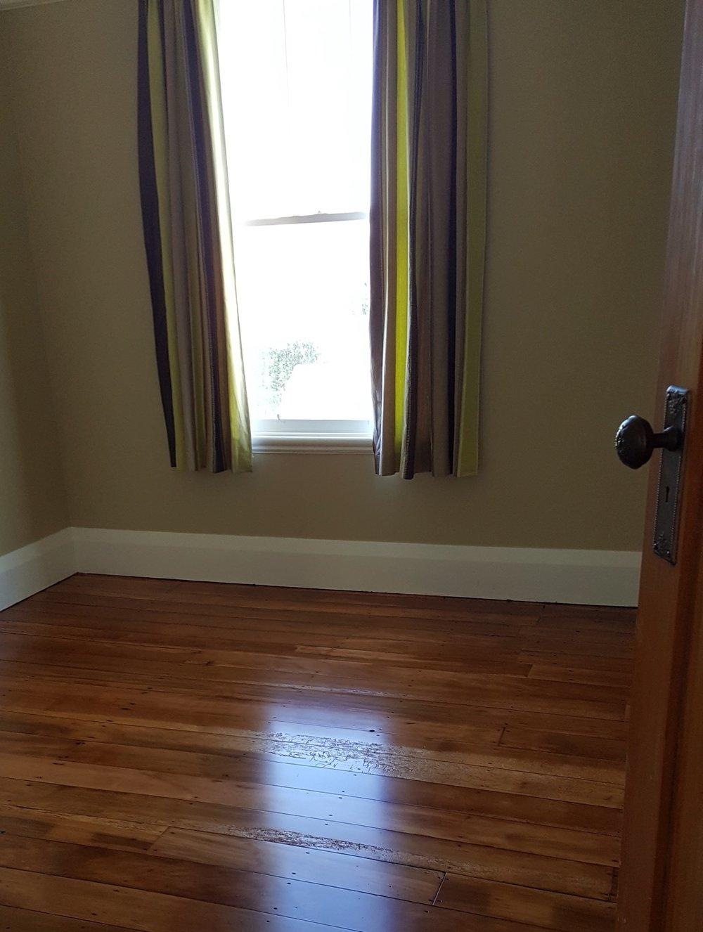 Polished floor