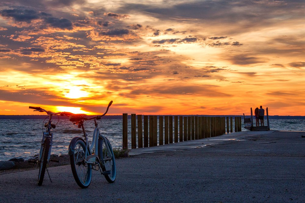 Sunset In Mackinaw City, MI - Photo by Todd Sechel