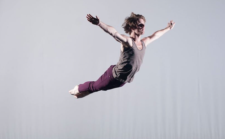 Image of dancer Tyler Orcutt courtesy of Repertory Dance Theatre