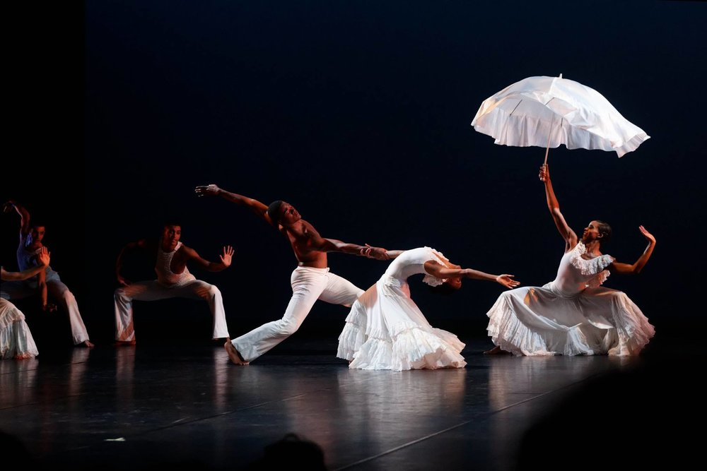 Ailey II in Alvin Ailey's Revelations. Photo by Pierre Wachholder, courtesy of Ailey II.