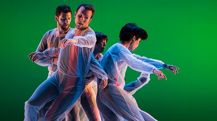 UtahPresents promotional image of Doug Varone and Dancers.