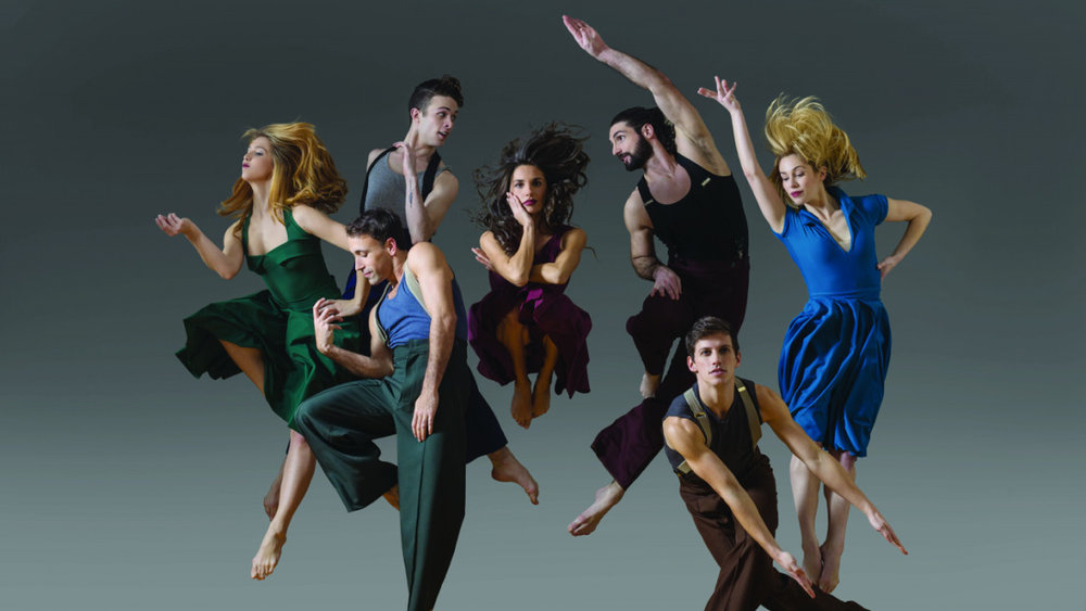 Ogden Symphony Ballet Association promotional image of Parsons Dance.