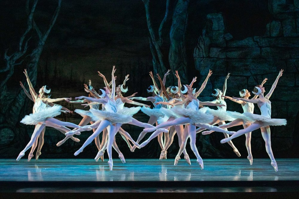 Artists of Ballet West in  Swan Lake . Photo by Beau Pearson.