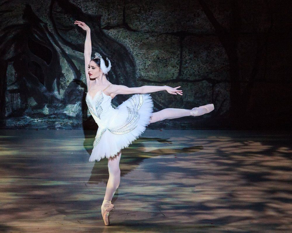 Principal Artist Beckanne Sisk as Odette. Photo by Luke Isley.