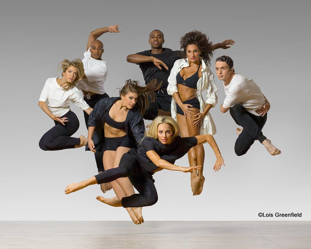 Press photo of Parsons Dance by Lois Greenfield, courtesy of the Park City Institute.