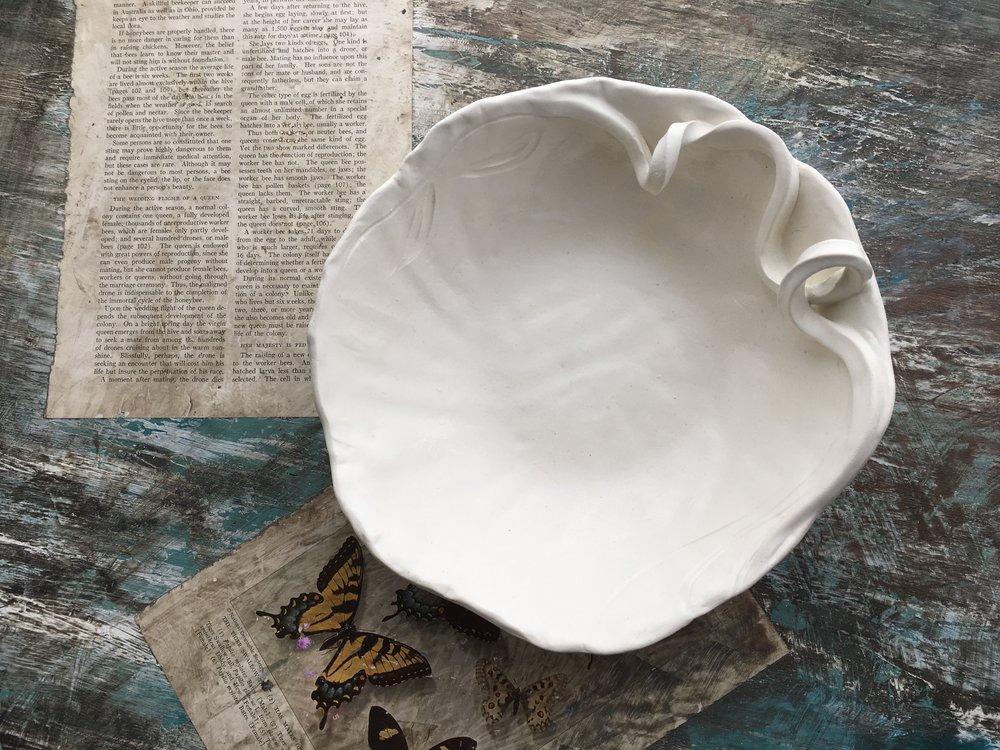 Coastal Stoneware bowl by Ericka O'Rourke