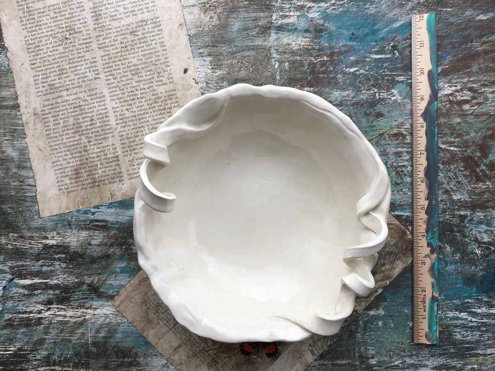 Coastal Stoneware No.2 bowl by Ericka O'Rourke